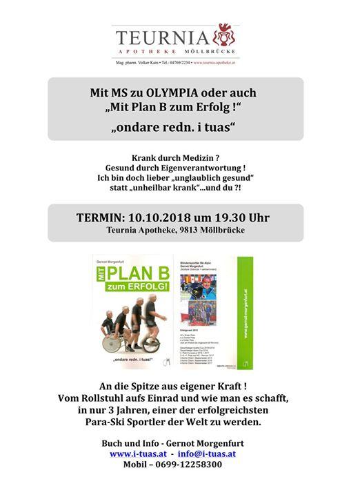 "Gernot Morgenfurt: ""Mit MS zu Olympia"""