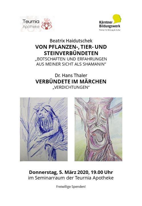 Ein Abend mit Beatrix Haidutschek und Dr. Hans Thaler